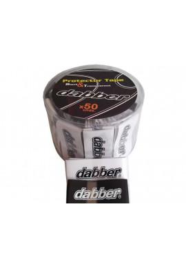 50 protectores Dabber negros y transparentes