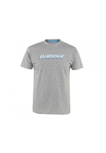 Camiseta Babolat T-SHIRT TRAINNING BASIC BOY gris
