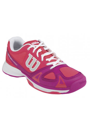 Zapatillas Wilson RUSH PRO JR neon red/fiesta pink