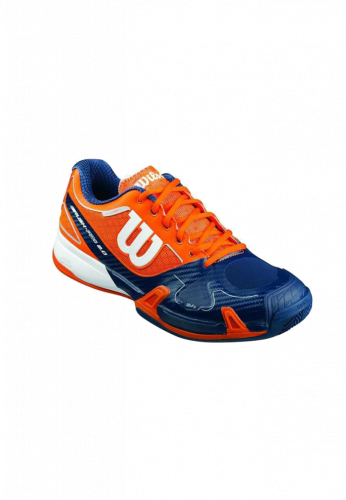 Zapatillas Wilson RUSH PRO 2.0 CLAY COURT clementin/navy wil/wht