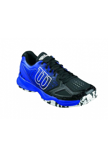 Zapatillas Wilson KAOS COMP black/blue iris wil/wht