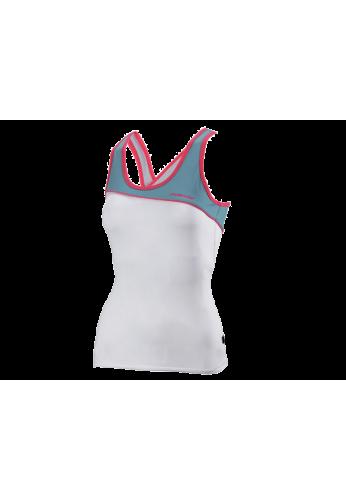 Camiseta Bullpadel AVELLANEDA blanca