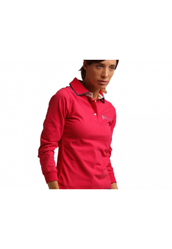 Polo Drop Shot SALMA fucsia