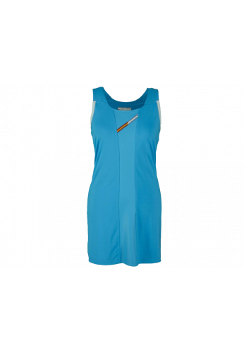 Vestido Varlion DINAMYC turquesa