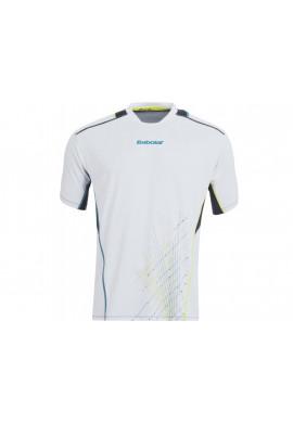 Camiseta Babolat MATCH PERF BOY blanca