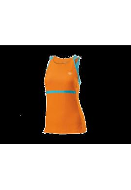 Camiseta WilsonUP SET TANK naranja