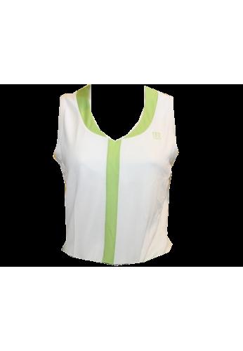 Camiseta Wilson TIMELESS blanco-kiwi