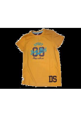 Camiseta Drop Shot NELSON amarilla