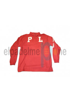Polo Padel Lobb ARTIC rojo