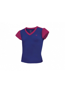 Camiseta Wilson SWEET SUCESS TOP morada