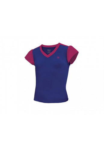 Camiseta Wilson SWEET SUCESS TOP morada