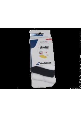 Calcetines Babolat 3 PARES blancos y negros