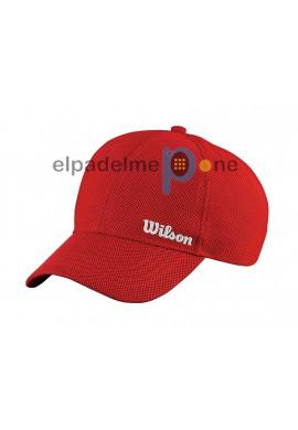 Gorra Wilson SUMMER CAP Roja