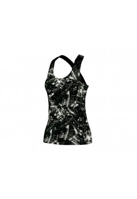 Camiseta Adidas PADEL RESPONSE TANK blanco y negro