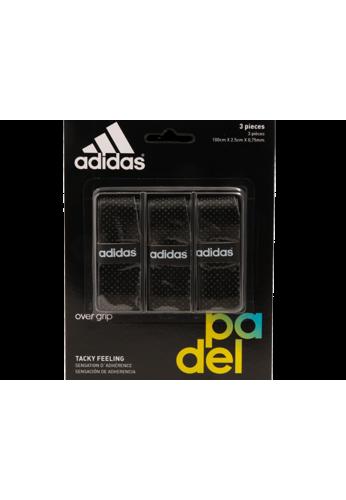 Blister Overgrips Adidas 3 Unidades negro