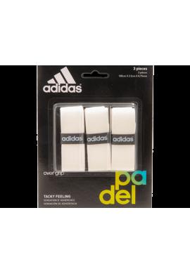 Blister Overgrips Adidas 3 Unidades blanco