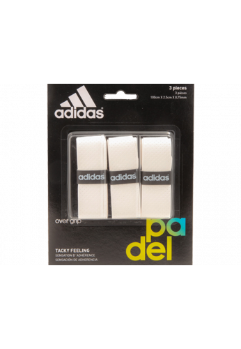 Blister Overgrips Adidas 3 Unidades blanco
