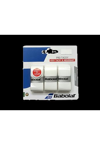 Blister Babolat PRO TACKY 3 Unidades blanco