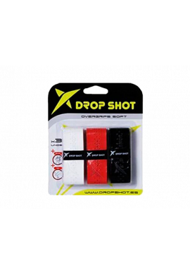 Overgrips Drop Shot SOFT Blister 3 ud