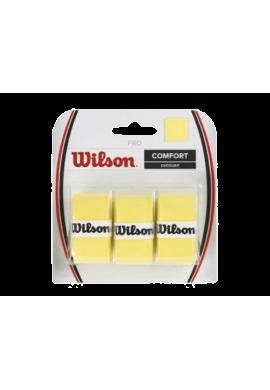 Blister Overgrips Wilson CONFORT amarillos