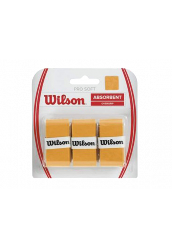 Blister Overgrips Wilson ABSORBENT gold