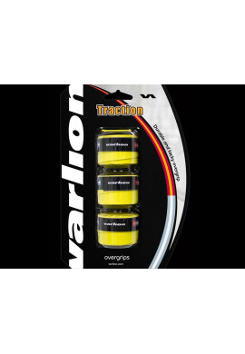 Blister Overgrips Varlion TRACTION amarillo