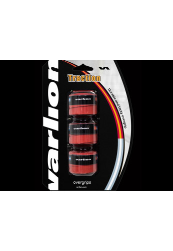 Blister Overgrips Varlion TRACTION rojo