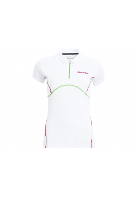 Polo Babolat MATCH PERF CORE blanco
