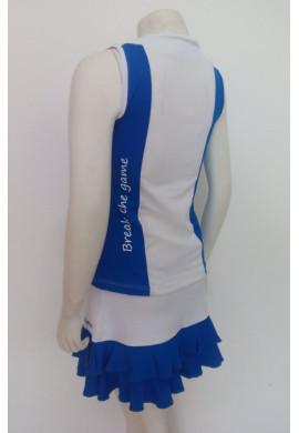 Conjunto Rolenn DUO azul y blanco
