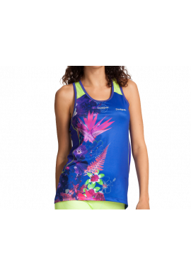 Camiseta Desigual TS LIDYA royal blue