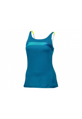 Camiseta Wilson COLORFLIGHT STRAPPY TANK azul