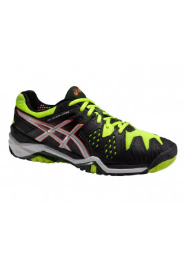 Zapatillas Asics GEL-RESOLUTION 6 CLAY onyx/silver/flash yellow