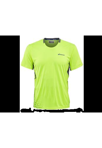 Camiseta Babolat CREW NECK PERF. amarilla