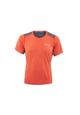 Camiseta Babolat V-NECK PERF. naranja