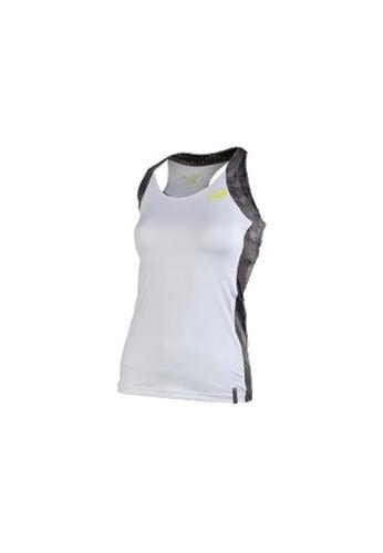 Camiseta Bullpadel BOUZA blanca