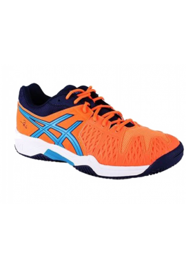 Zapatillas Asics GEL-BELA 5 SG GS hot orange/methyl blue/indigo blue
