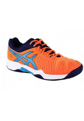 Zapatillas Asics GEL-BELA 5 GS GS hot orange/methyl blue/indigo blue