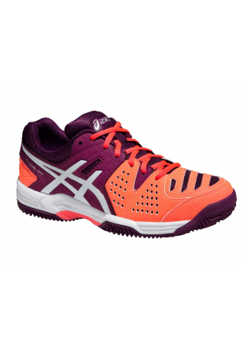 Zapatillas Asics GEL-PADEL PRO 3 SG flash coral/white/plum