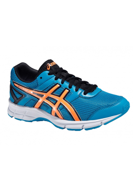 Zapatillas Asics GEL-GALAXY 8 GS methyl blue/hot orange/black