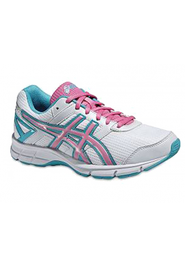 Zapatillas Asics GEL- GALAXY 8 GS white/flamingo/scuba blue