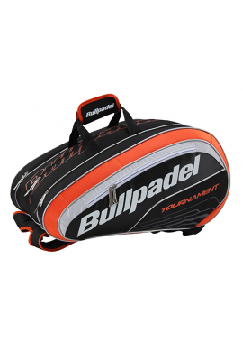 Paletero Bullpadel TOURNAMENT negro y naranja