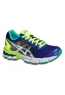 Zapatillas Asics GEL-NIMBUS 18 GS asics blue/silver/flash yellow