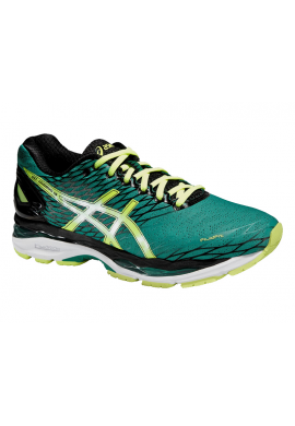 Zapatillas Asics GEL-NIMBUS 18 pine/flash yellow/black