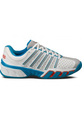 Zapatillas K-swiss BIGSHOT 2.5 white/ mthyl blue/fiery red