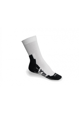 Calcetines Drop Shot MEN 1 PAR blanco y negro