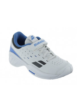 Zapatillas Babolat PULSION BPM KID white/blue