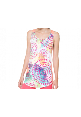 Vestido Desigual TS-CD TANK DRESS living coral