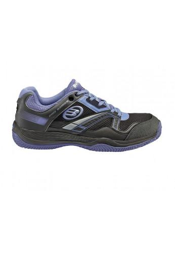 Zapatillas Bullpadel BONSO violeta y negra