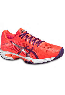 Zapatillas Asics GEL-SOLUTION SPEED 3 CLAY flash coral/plum/flash coral