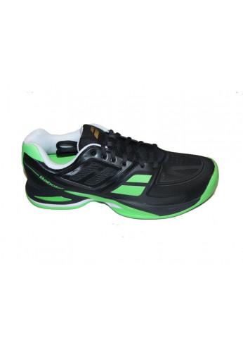Zapatillas Babolat PTEAM BPM CLAY negra y verde